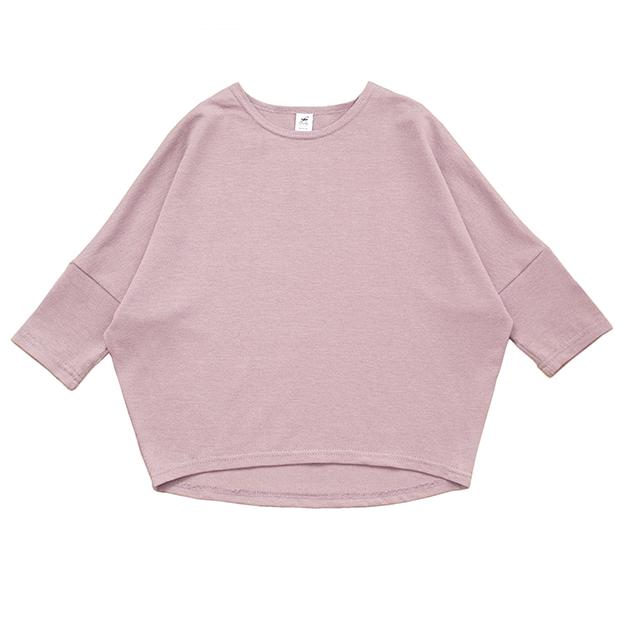 Взрослый лонгслив розовый