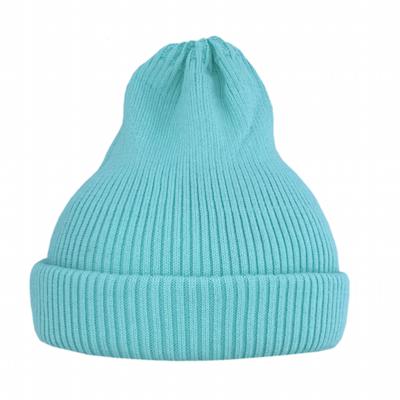 Хлопковая шапка ko-ko-ko лазурно-голубая