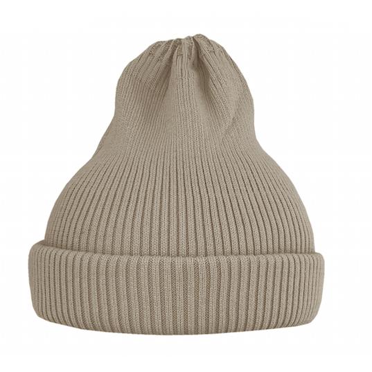 Хлопковая шапка ko-ko-ko песочная светлая
