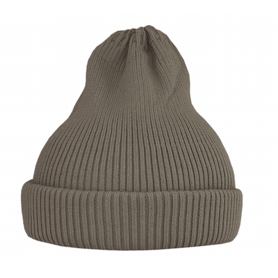 Хлопковая шапка ko-ko-ko песочная темная