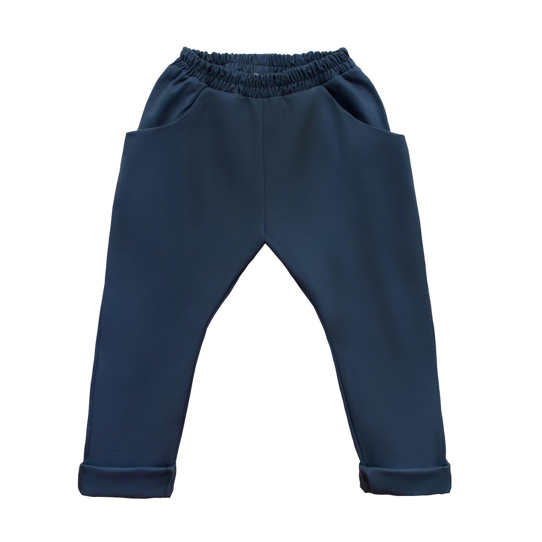 Штаны унисекс синие