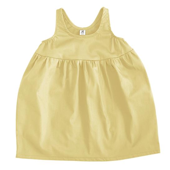 Платье bubble желтое пастельное