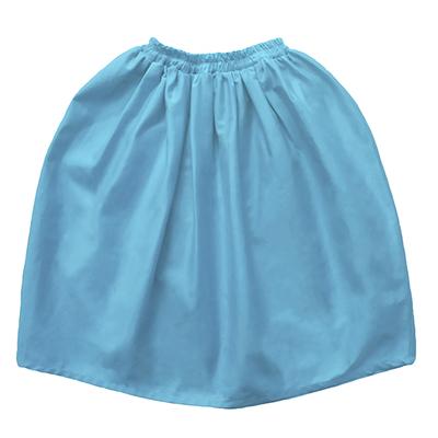 Длинная юбка голубая