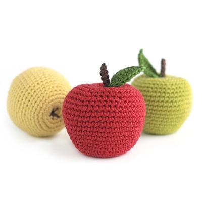 Вязаное яблоко