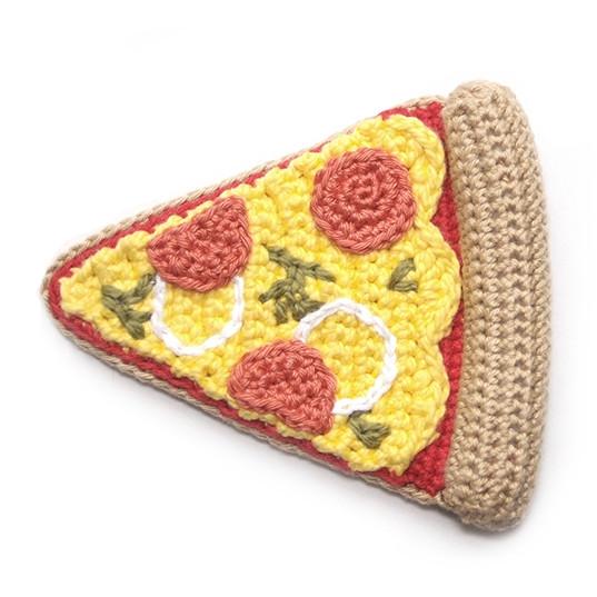 Вязаная пицца