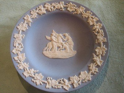 Wedgwood Blue and White Plate
