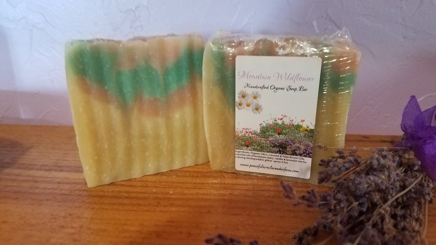 Mountain Wildflower Bar Soap