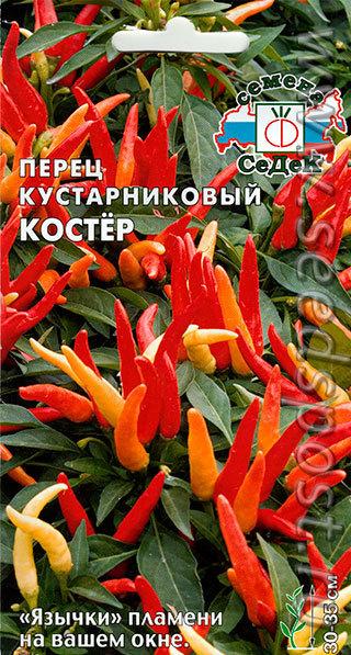 Перец острый кустарниковый Костер 00541