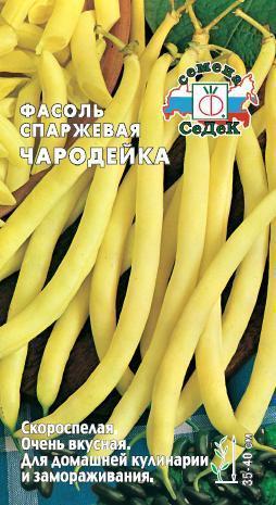 Фасоль спаржевая Чародейка 01330