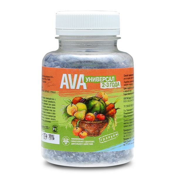 AVA Универсал 2-3 года (гранулы) 500 г.