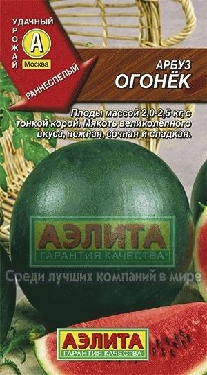 Арбуз Огонек 01160