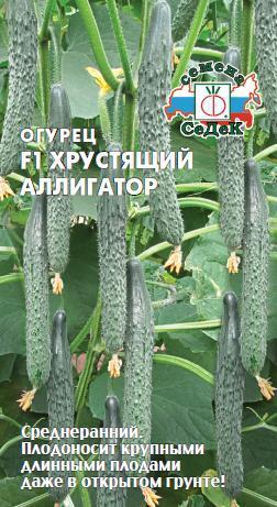 Огурец Хрустящий аллигатор F1 00404