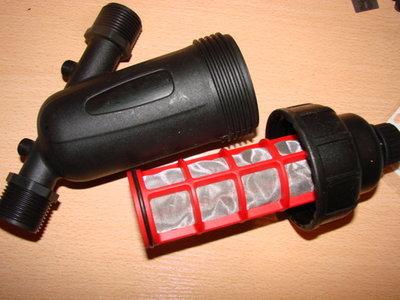 Фильтр очистки воды сетчатый 1