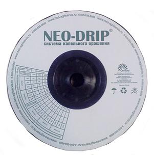 Лента капельная Neo Drip ( Россия) 16/6mil-1,6л/ч-20см