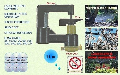 Комплект спринклер для открытого грунта 831-120 00013