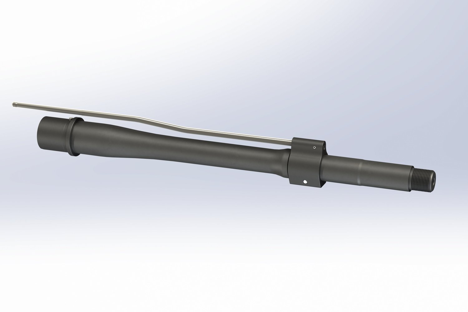 "BRT 11.5"" OPTIMUM CQB-S Barrel - Suppressor Gas Drive"