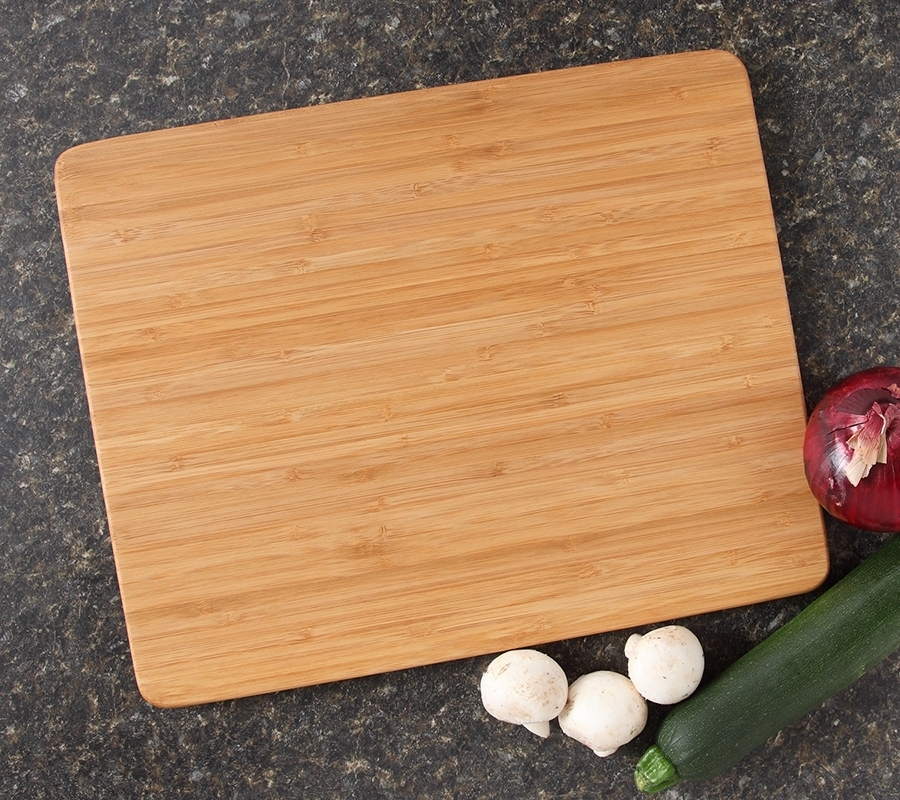 Personalized Cutting Board Custom Engraved Bamboo Cutting Board-15 x 12