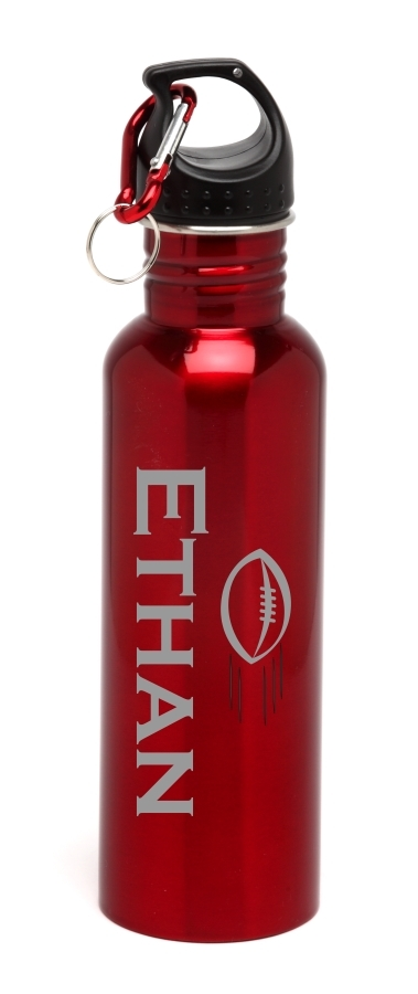 Personalized Water Bottle Stainless Steel Water Bottle Football SSWB-107