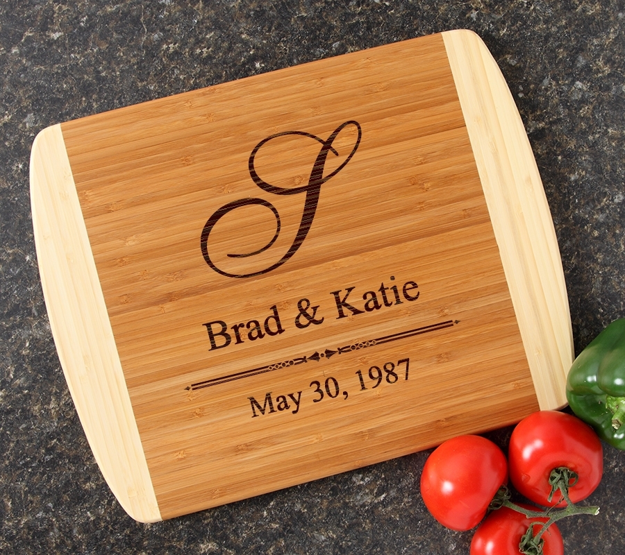Personalized Cutting Board Custom Engraved 14x11 DESIGN 11 CBC-011