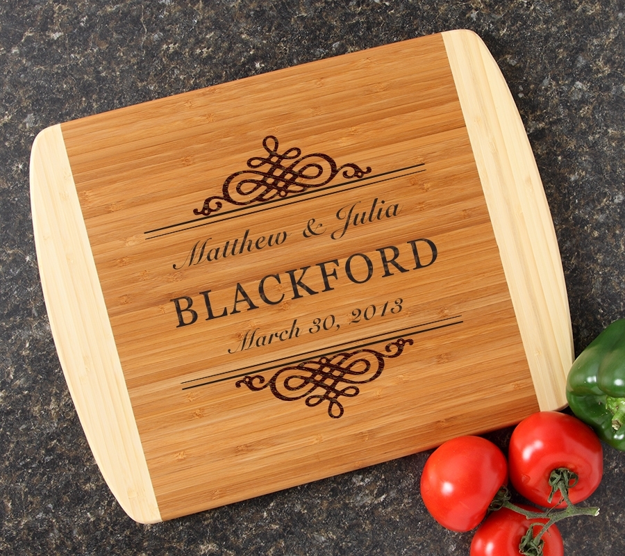 Personalized Cutting Board Custom Engraved 14x11 DESIGN 14 CBC-014