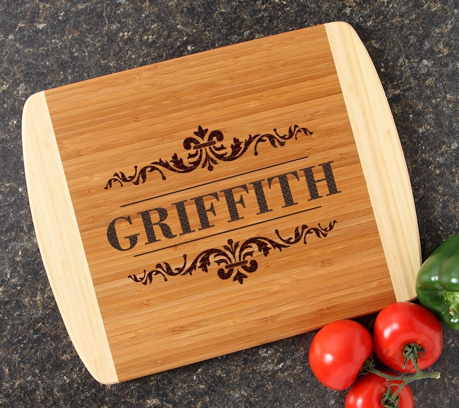 Personalized Cutting Board Custom Engraved 14x11 DESIGN 16 CBC-016