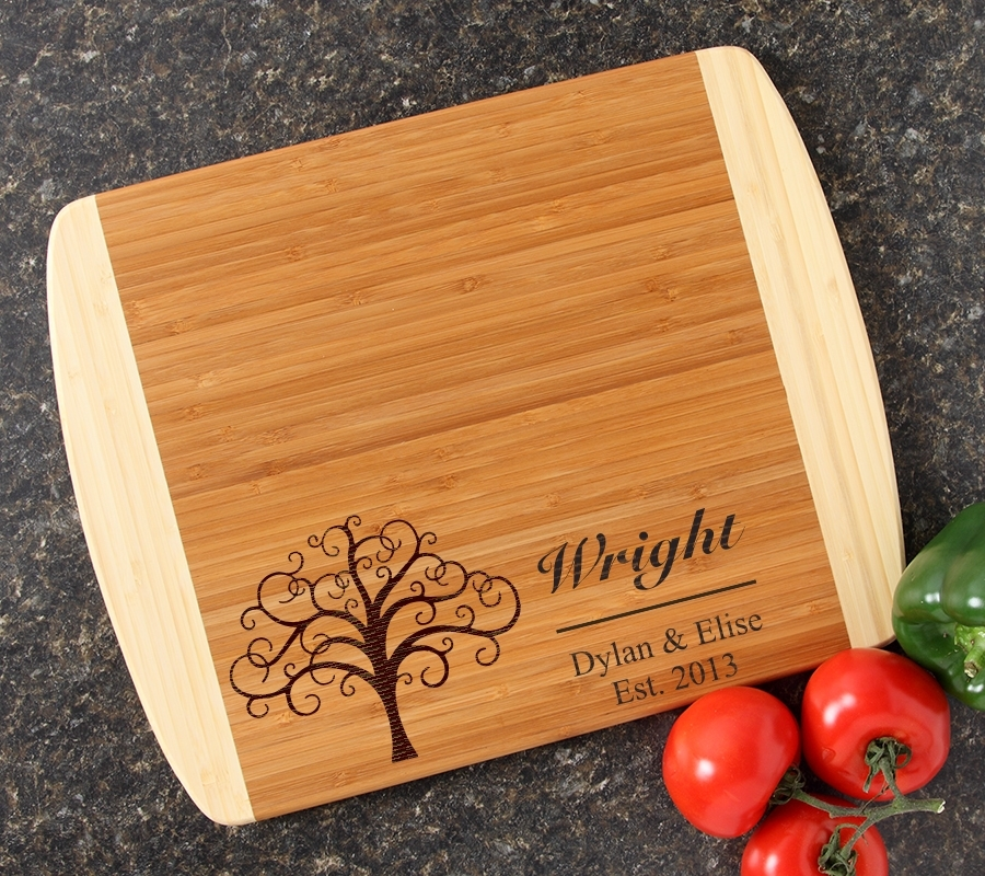 Personalized Cutting Board Custom Engraved 14x11 DESIGN 18 CBC-018