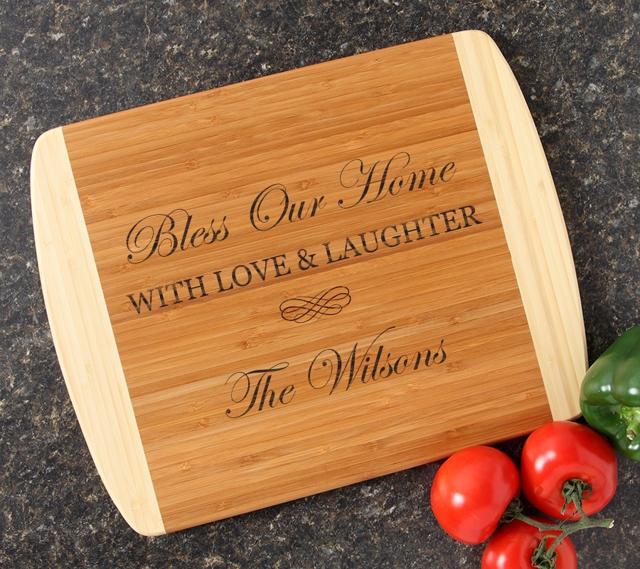 Personalized Cutting Board Custom Engraved 14x11 DESIGN 22 CBC-022