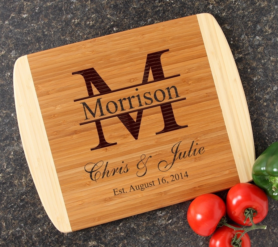 Personalized Cutting Board Custom Engraved 14x11 DESIGN 24 CBC-024