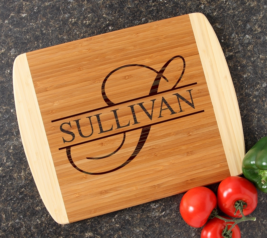 Personalized Cutting Board Custom Engraved 14x11 DESIGN 25 CBC-025