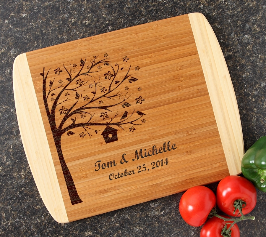 Personalized Cutting Board Custom Engraved 14x11 DESIGN 27 CBC-027