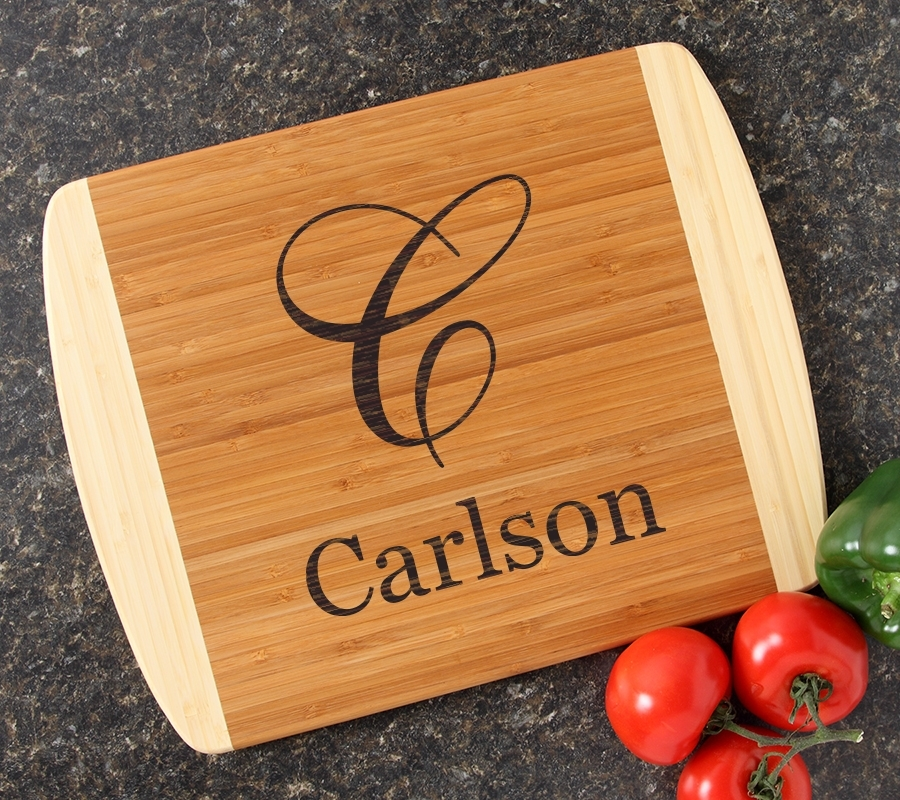 Personalized Cutting Board Custom Engraved 14x11 DESIGN 3 CBC-003