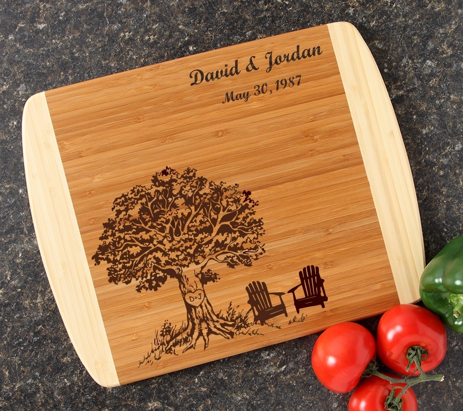 Personalized Cutting Board Custom Engraved 14x11 DESIGN 31 CBC-031