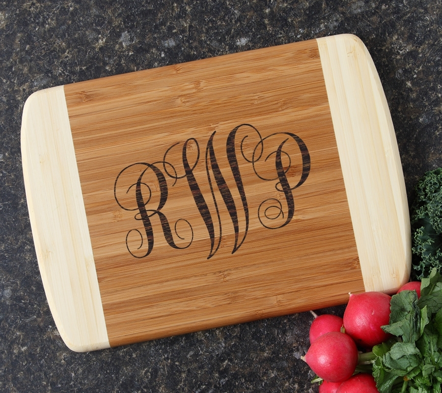 Personalized Cutting Board Custom Engraved 10 x 7 DESIGN 1 CBG-001