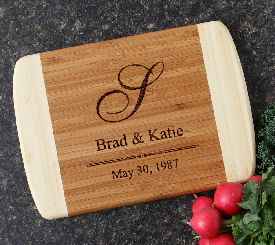 Personalized Cutting Board Custom Engraved 10 x 7 DESIGN 11 CBG-011