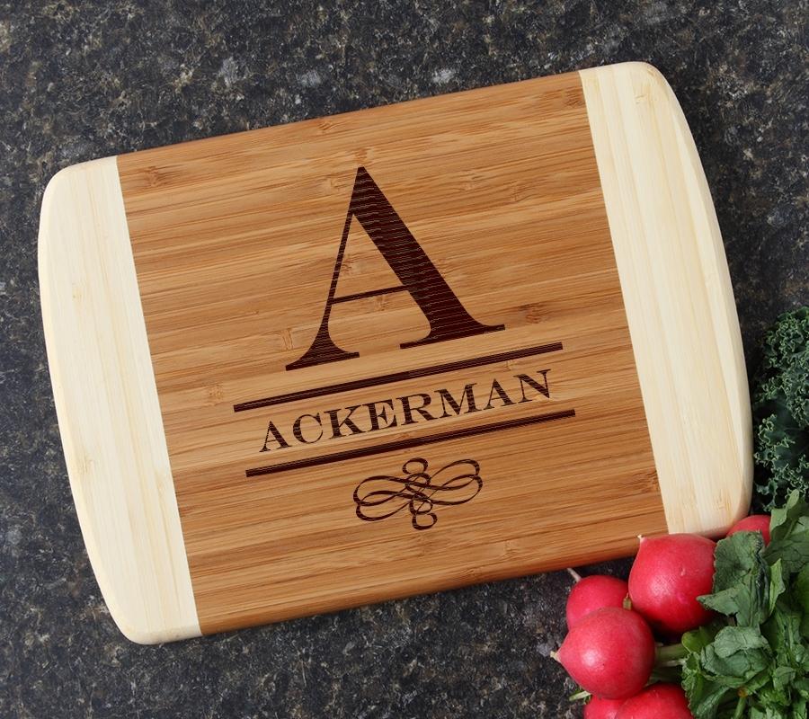 Personalized Cutting Board Custom Engraved 10 x 7 DESIGN 12 CBG-012