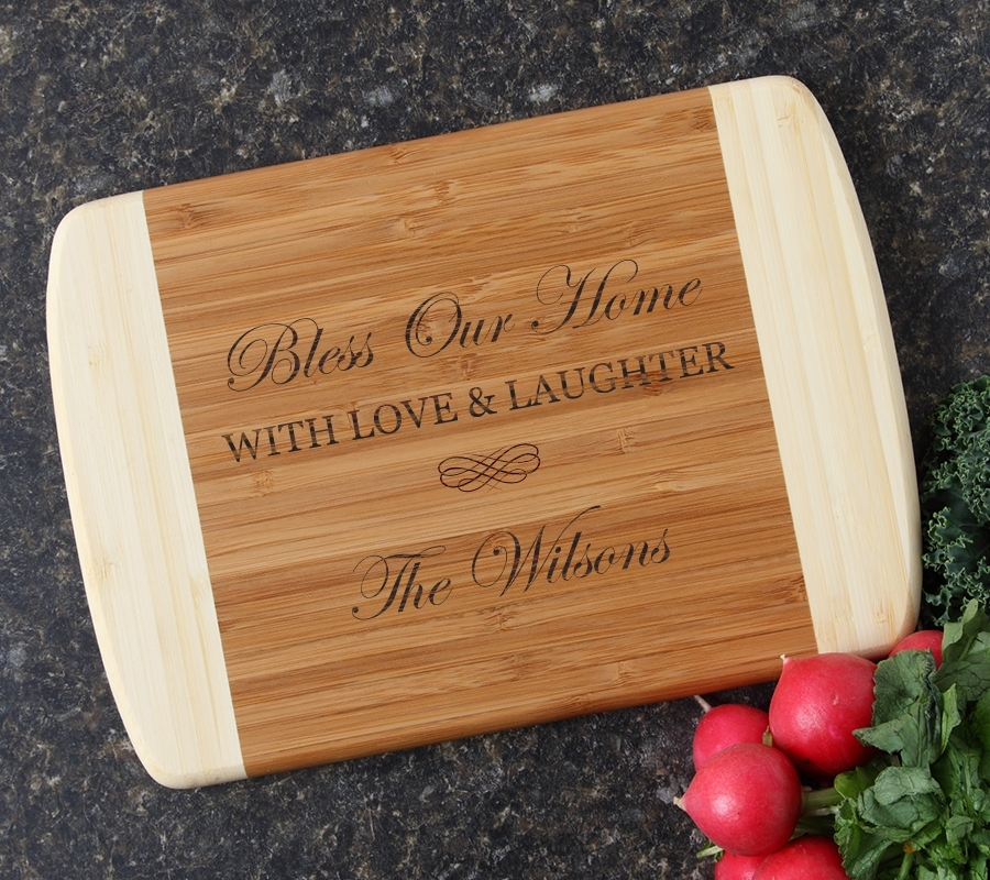 Personalized Cutting Board Custom Engraved 10 x 7 DESIGN 22 CBG-022