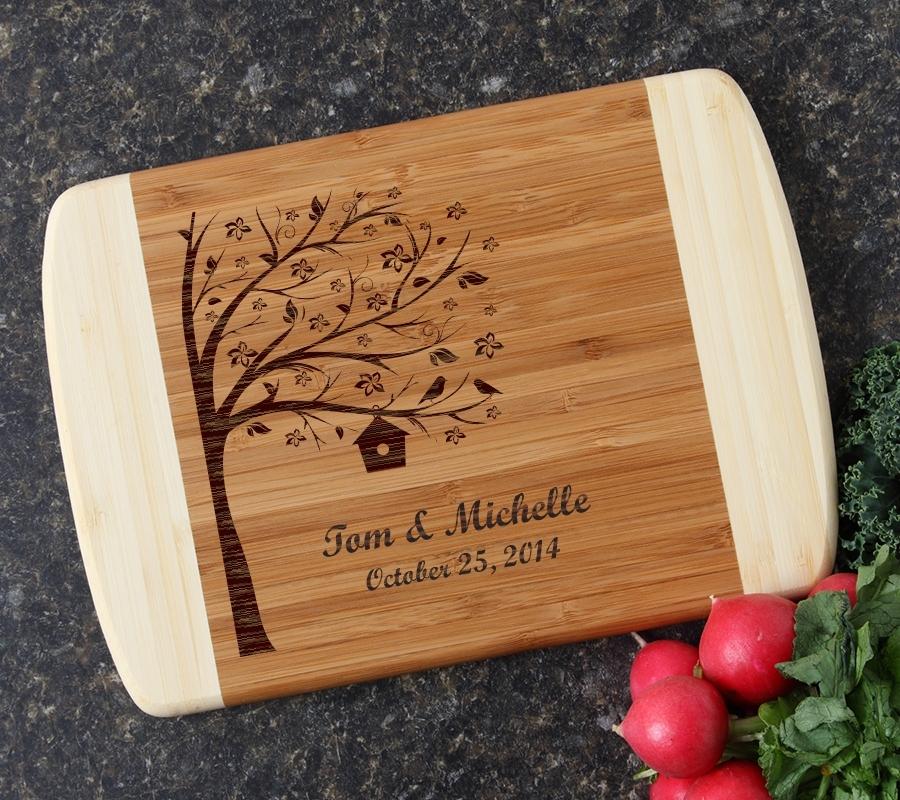 Personalized Cutting Board Custom Engraved 10 x 7 DESIGN 27 CBG-027