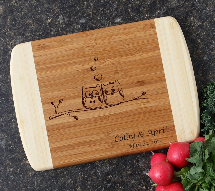 Personalized Cutting Board Custom Engraved 10 x 7 DESIGN 29 CBG-029