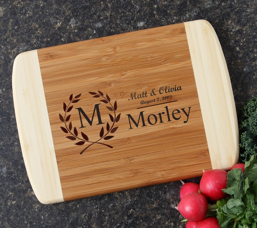 Personalized Cutting Board Custom Engraved 10 x 7 DESIGN 6 CBG-006