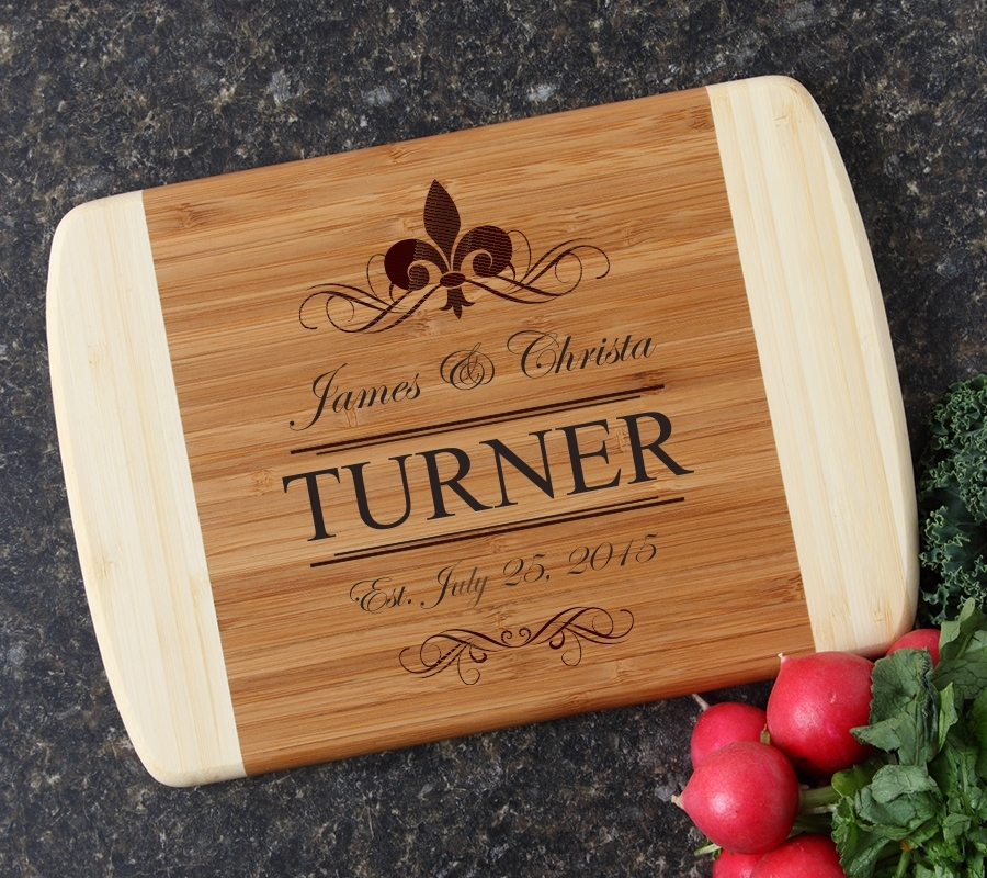 Personalized Cutting Board Custom Engraved 10 x 7 DESIGN 20 CBG-020