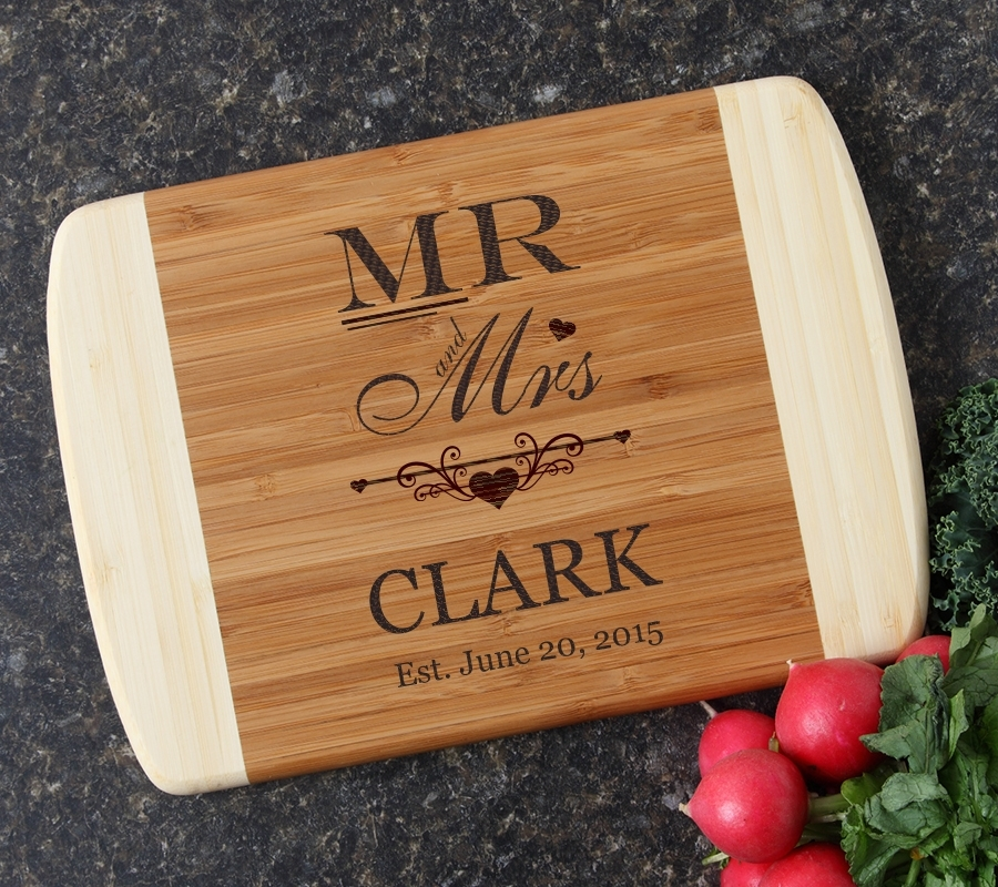 Personalized Cutting Board Custom Engraved 10 x 7 DESIGN 21 CBG-021