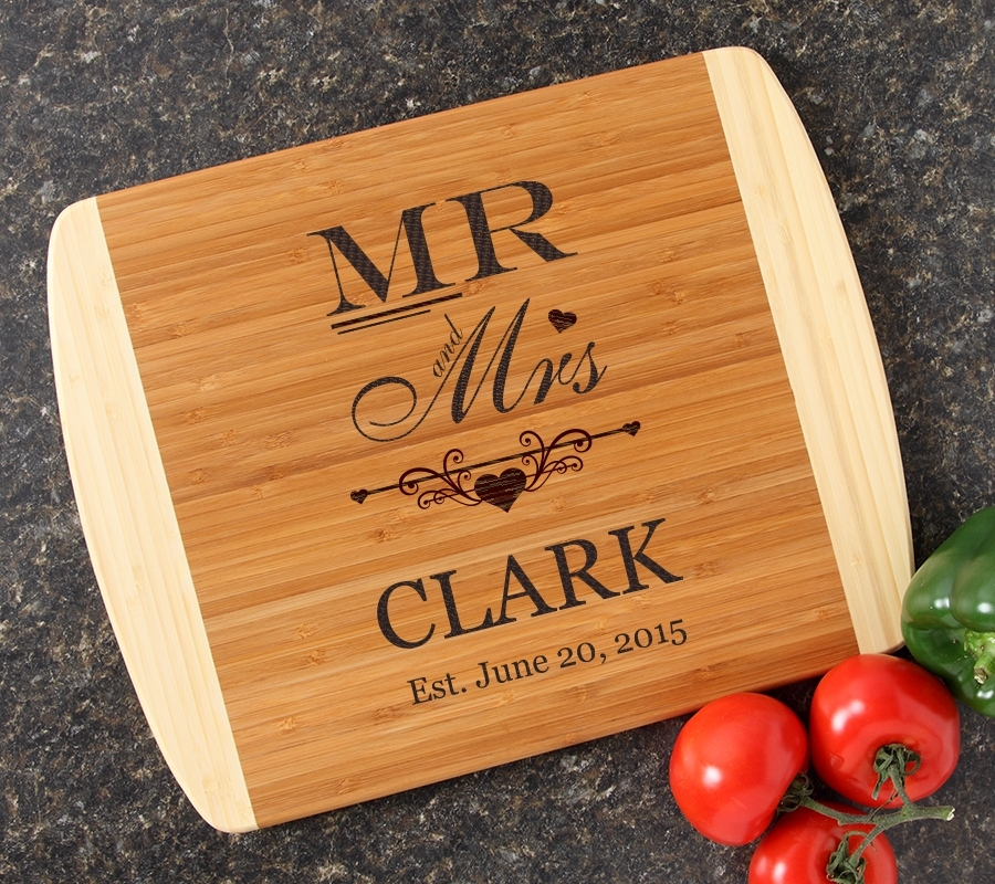 Personalized Cutting Board Custom Engraved 14x11 DESIGN 21 CBC-021