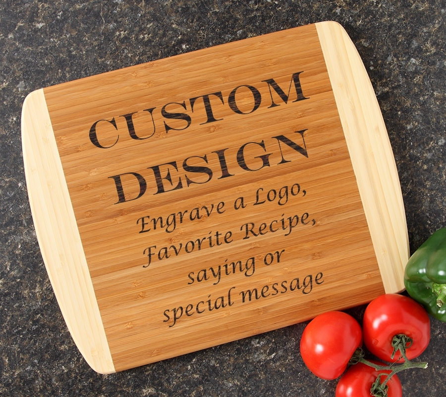 Personalized Cutting Board Custom Engraved 14x11 DESIGN 13 CBC-013