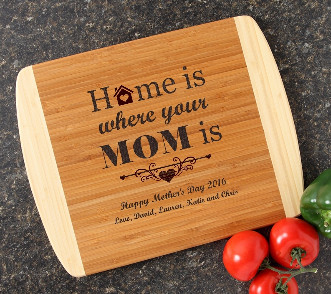 Personalized Cutting Board Custom Engraved 14x11 DESIGN 42 CBC-042