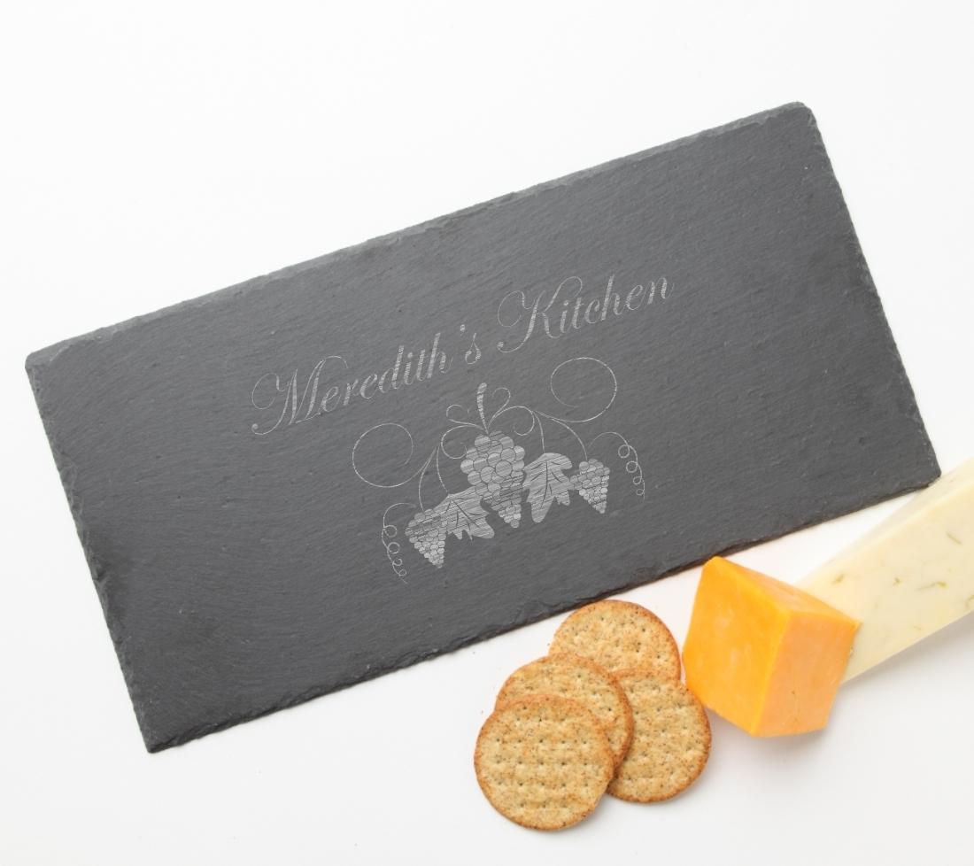 Personalized Slate Cheese Board 15 x 7 DESIGN 40 SCB-040