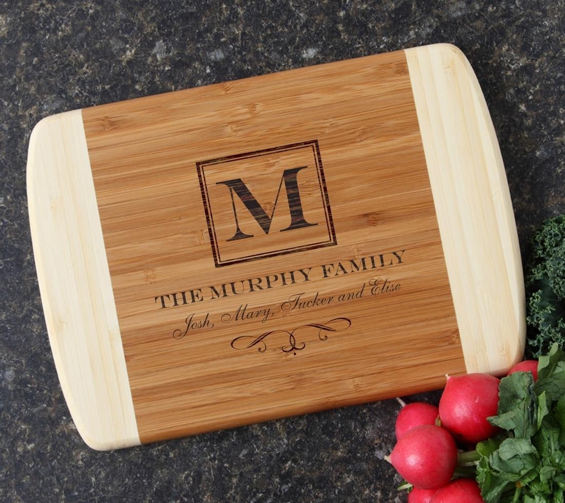 Personalized Cutting Board Custom Engraved 10 x 7 DESIGN 41 CBG-041