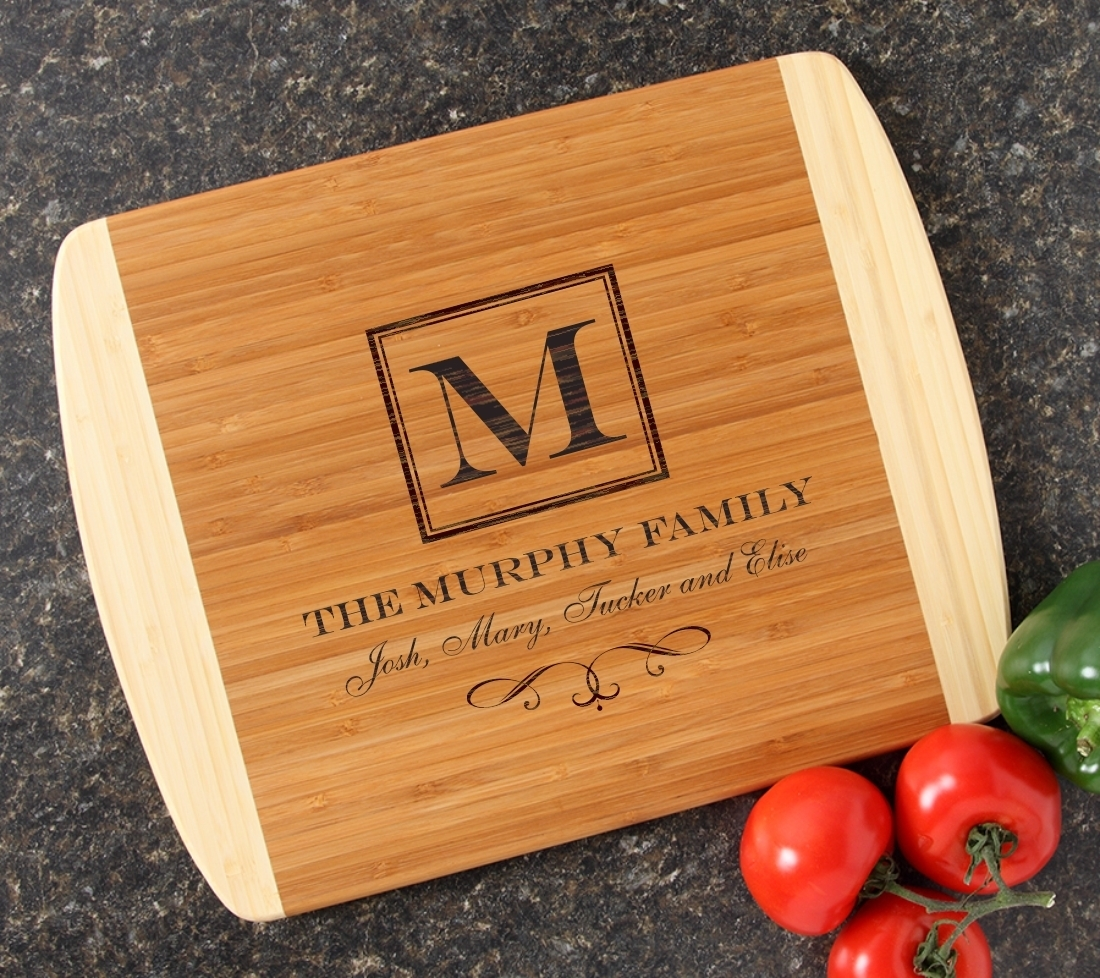 Personalized Cutting Board Custom Engraved 14x11 DESIGN 41 CBC-041