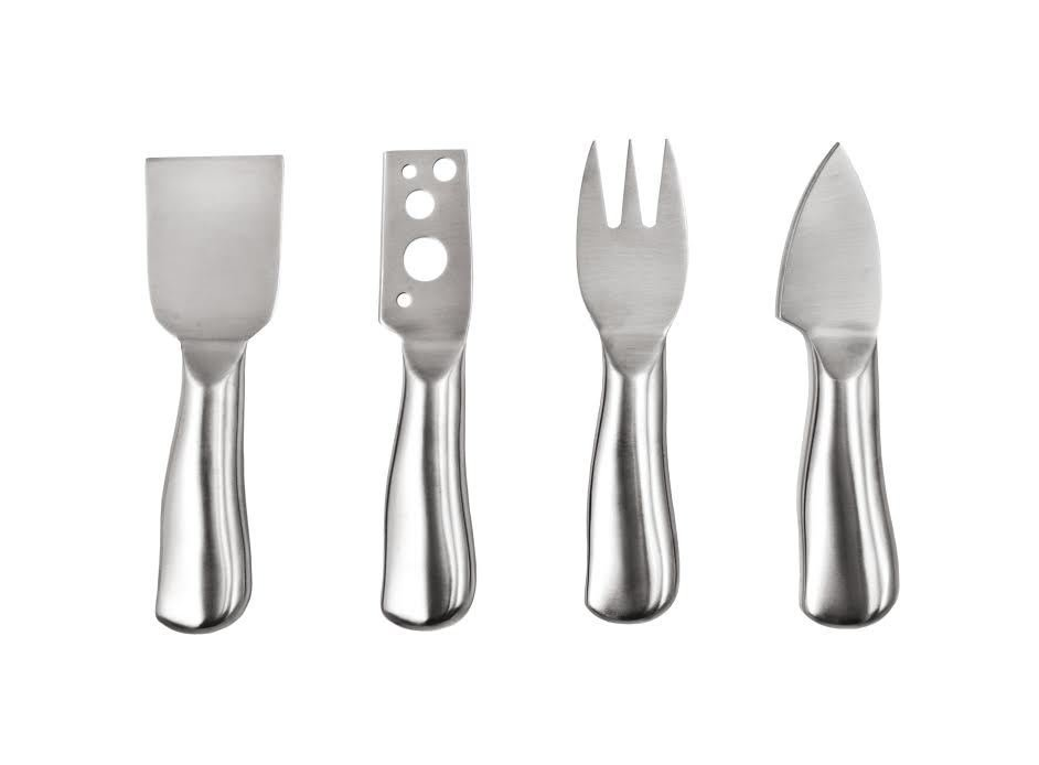 Stainless Steel Cheese Utensils Set of 4