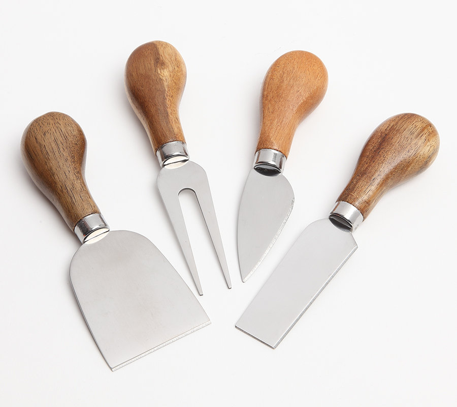 Acacia Wood Cheese Utensils