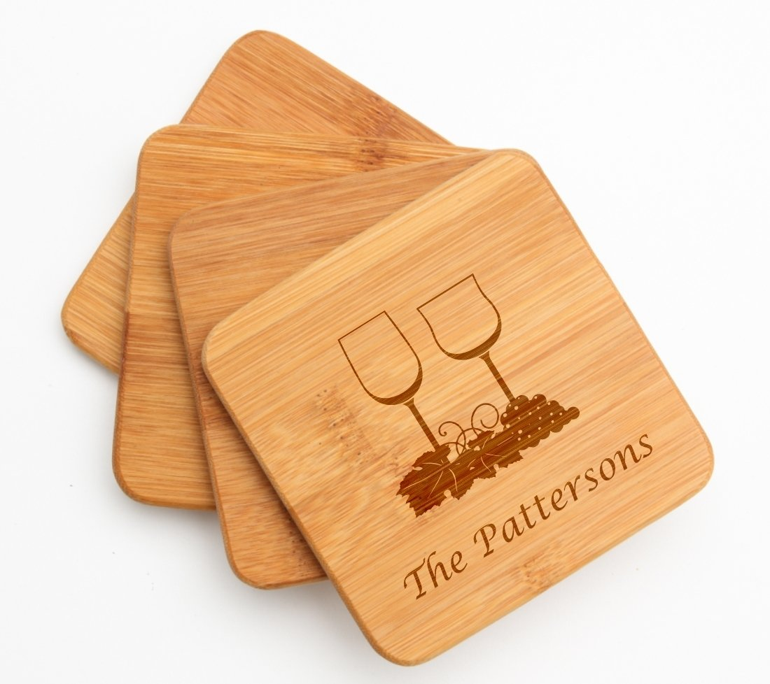 Cutting Board Engraved Personalized Bamboo 12 x 9 DESIGN 5